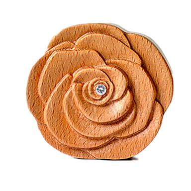 الصندوق الموسيقي ألعاب الورود خشب قطع للجنسين هدية