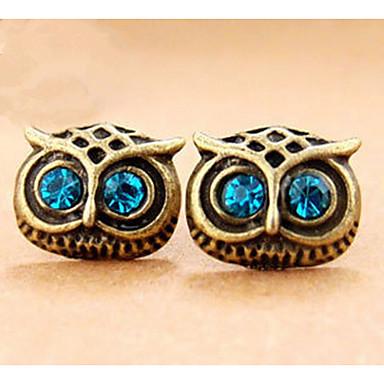 للرجال للمرأة أقراط قطرة مجوهرات مخصص تصميم فريد تصميم الحيوانات كلاسيكي قديم حجر الراين بوهيميان أساسي مثيرة قلب دائرة الصداقة هيب هوب
