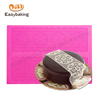Koristeluväline Kant voor Candy Chocolade Pizza Taart Cupcake Koekje Cake Other Silicium Rubber Siliconen Milieuvriendelijk DHZ