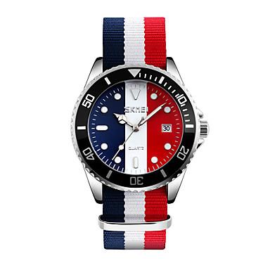 SKMEI Bărbați Ceas La Modă Ceas de Mână Japoneză Quartz Calendar Rezistent la Apă Material Bandă Cool Multicolor