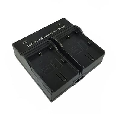 Lpe6n us μπαταρία ψηφιακής κάμερας διπλός φορτιστής για canon lpe6n lpe6 5d4 5d2 5d3 6d 7d 7d2 60d 70d