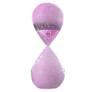 Hourglass ألعاب لهو زجاج للأطفال للجنسين قطع
