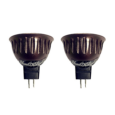 3W 250 lm GU5.3(MR16) LED Spot Lampen 1 Leds COB Warmes Weiß