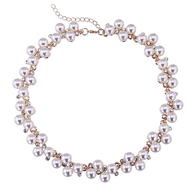 Kadın's Tellerinin Kolye İmitasyon İnci Çok güzel Kişiselleştirilmiş sevimli Stil Euramerican Mücevher Için Düğün Parti 1pc