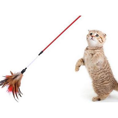Kot Zabawka dla kota Zabawki dla zwierząt Interaktywne Wędki dla Kota Trwały Materiał Dla zwierząt domowych
