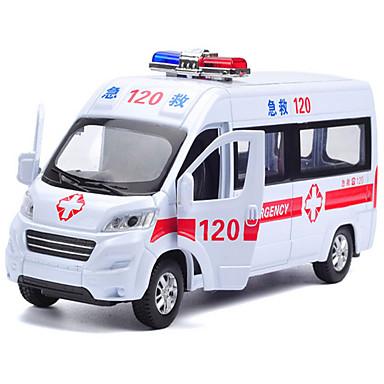 Speelgoedauto's Ambulance Speeltjes Muziek en licht Speeltjes Metaal Stuks Unisex Geschenk