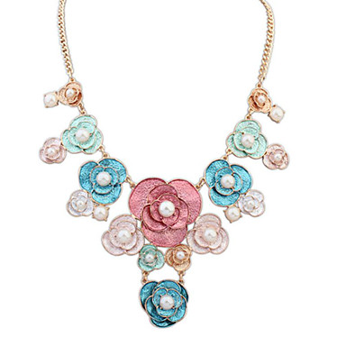 Pentru femei Modă Coliere Imitație de Perle Aliaj Coliere . Modă Zi de Naștere Logodnă Casual