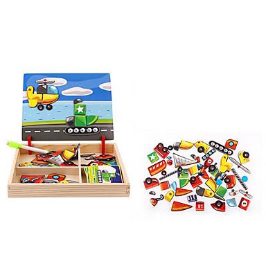 Puzzle Pegged puzzle-uri Jucării Logice & Puzzle Jucării Educaționale Jucarii Pătrat Reparații Hârtie Pentru copii 1 Bucăți