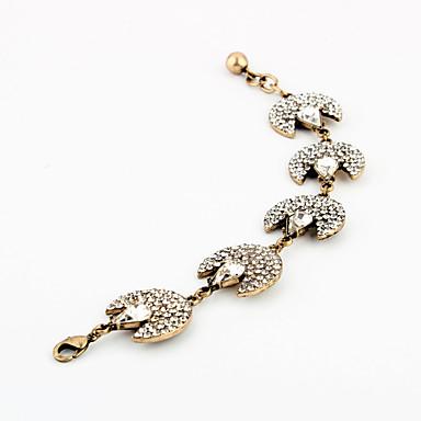 Γυναικεία Βραχιόλια με Αλυσίδα & Κούμπωμα Κοσμήματα Φιλία κοσμήματα πολυτελείας Κράμα Geometric Shape Κοσμήματα Για Πάρτι Ειδική Περίσταση