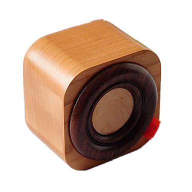 Music Box Zabawki Kwadrat Kaczka Wiśniowy Drewniany Sztuk Dla obu płci Urodziny Walentynki Prezent