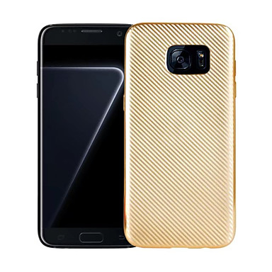 Kılıf Na Samsung Galaxy S8 Plus S8 Galwanizowane Etui na tył Solid Color Miękkie TPU na S8 S8 Plus S7 edge S7