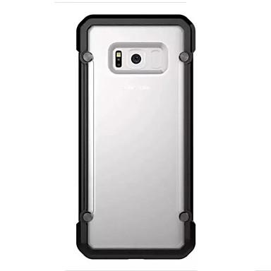 Hülle Für Samsung Galaxy S8 Plus S8 Stoßresistent Transparent Rückseitenabdeckung Volltonfarbe Hart TPU für S8 S8 Plus S7 edge S7