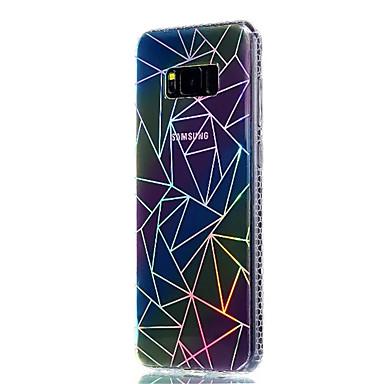 Hülle Für Samsung Galaxy S8 Plus S8 Beschichtung Durchscheinend Muster Rückseitenabdeckung Geometrische Muster Weich TPU für S8 S8 Plus