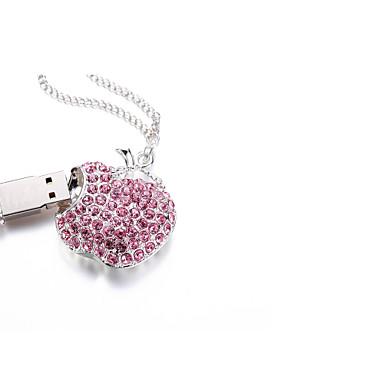 kuohuviini kristalli rannerengas viehätys USB-muistitikun flash-levy 32GB