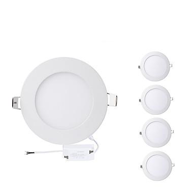 4W 400lm 20 LED-uri Ușor de Instalat Încastrat Lumini Panel Alb Cald Alb Rece AC 85-265V