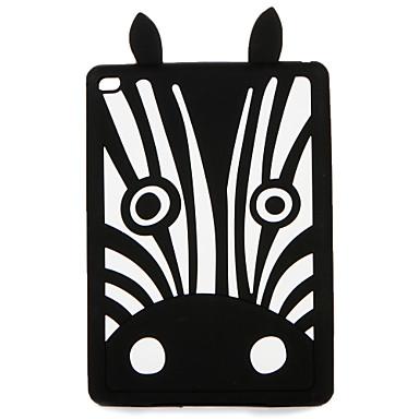 Voor apple ipad (2017) pro 9.7 '' case cover patroon achterkant hoesje 3d cartoon zachte siliconen lucht 2 lucht ipad 4/3/2