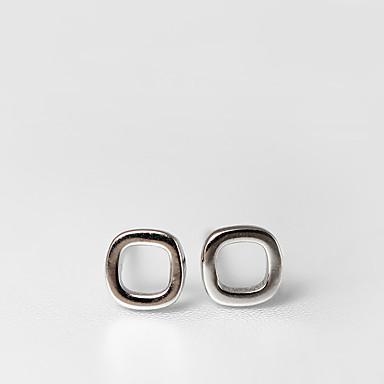 Γυναικεία Κουμπωτά Σκουλαρίκια Κοσμήματα Λατρευτός Εξατομικευόμενο Euramerican μινιμαλιστικό στυλ Ασήμι Στερλίνας Κοσμήματα Για Γάμου
