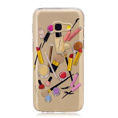 Kılıf Na Samsung Galaxy A5(2017) A3(2017) Wzór Czarne etui Seksowna dziewczyna Rysunek Miękkie TPU na A3 (2017) A5 (2017) A5(2016)