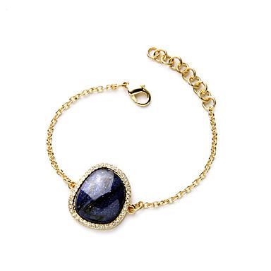 Pentru femei Brățări cu Lanț & Legături Bijuterii Prietenie La modă Aliaj Geometric Shape Alb Albastru Bijuterii Pentru Zi de Naștere1