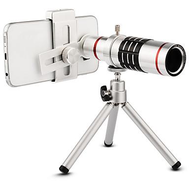 ieftine Cameră Mobil Atașare-De înaltă calitate 18x zoom optic telescop teleobiectiv kit kit lentile camera foto cu trepied pentru iphone 6 7 samsung s7 xiaomi mi6