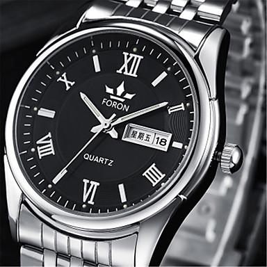 Bărbați ceas mecanic Quartz Aliaj Bandă Argint