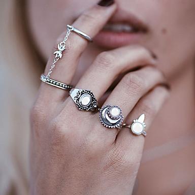 للمرأة الاصطناعية العقيق تصميم فريد راتينج سبيكة Circle Shape مجوهرات زفاف حزب مناسبة خاصة يوميا فضفاض