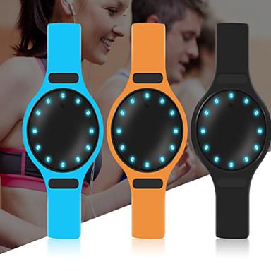 Erkek Spor Saat Akıllı İzle Moda Saat Bilek Saati Dijital saat Çince Dijital Kronograf LED Pedometre Fitness Takip Cihazı Komünikasyon PU