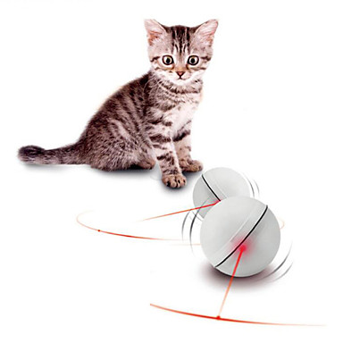 لعبة للقطة لعبة للكلب ألعاب الحيوانات الأليفة الكرات متفاعل إلكتروني البلاستيك