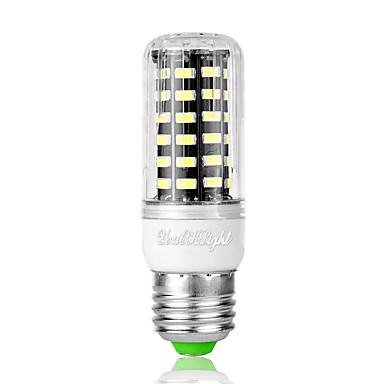3W 240 lm E26/E27 Żarówki LED kukurydza T 64 Diody lED SMD 5733 Zimna biel AC 110-130V