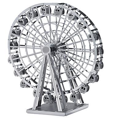 3D - Puzzle Metallpuzzle Modellbausätze Riesenrad Spaß Holz Klassisch