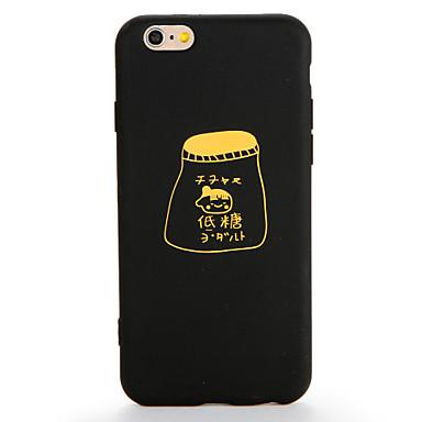 Voor apple iphone 7 7 plus case cover patroon back cover case woord / zin soft tpu 6s plus 6plus 6s 6