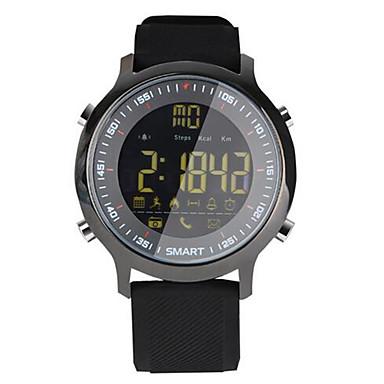 Slim horloge Waterbestendig Lange stand-by Verbrande calorieën Stappentellers Logboek Oefeningen Sportief Informatie Camerabediening