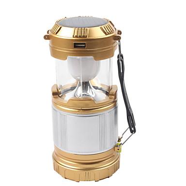 Lanterns & Tent Lights LED 850 lm 1 طريقة LED مع الشاحن قابلة لإعادة الشحن ضد الماء حالة طوارئ إمدادات الطاقة المحمولة