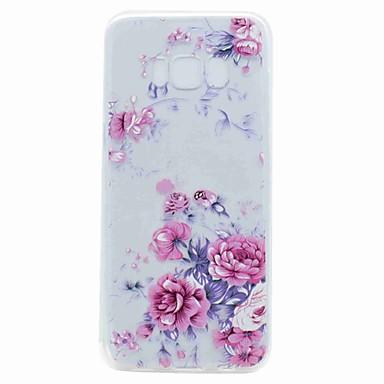 Hülle Für Samsung Galaxy S8 Plus S8 Durchscheinend Muster Rückseitenabdeckung Blume Weich TPU für S8 S8 Plus S7 edge S7 S6 edge S6 S5