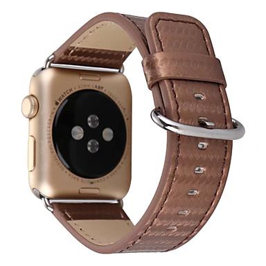 Watch Band için Apple Watch Series 3 / 2 / 1 Apple Klasik Toka Gerçek Deri Bilek Askısı