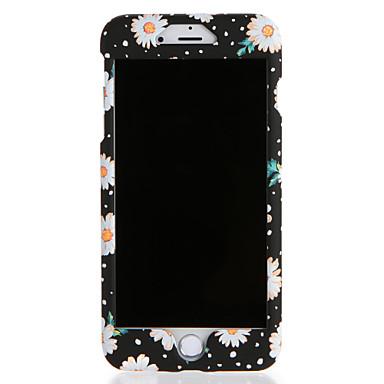 Pentru Apple iphone 7 7plus carcasă caz acoperire complet corp caz de flori greu pc 6s plus 6 plus 6s 6