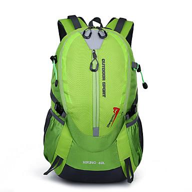 40 L حقيبة ظهر التخييم والتنزه السفر يمكن ارتداؤها متنفس مكتشف الرطوبة