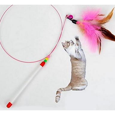 Kissan lelu Lemmikkieläinten lelut Interaktiivinen Narulelut Kestävä Kangas Muovi Lemmikit