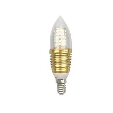 9W 850lm E14 E26 / E27 أضواء LED ذرة C35 60 الخرز LED SMD 2835 أبيض دافئ أبيض 85-265V