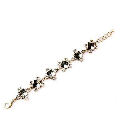 Damskie Bransoletki bangle Modny Stop Square Shape Biżuteria Na Specjalne okazje Prezenty bożonarodzeniowe 1szt
