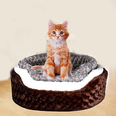 Pisici Câine Paturi Animale de Companie  Rogojini & Pernuțe Mată Απαλό Cafea