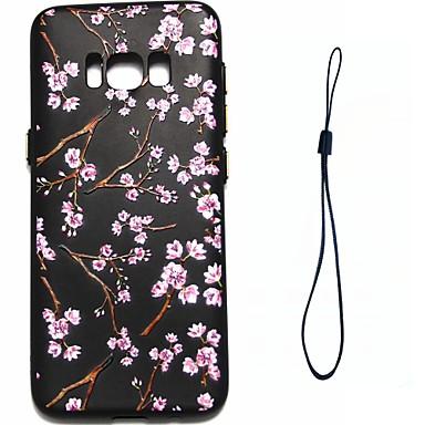 Maska Pentru Samsung Galaxy S8 Plus S8 Placare Model Carcasă Spate Floare Moale TPU pentru S8 S8 Plus S7 edge S7 S6 edge S6 S5