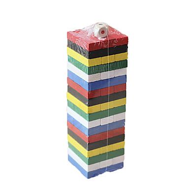Rakennuspalikat Rakennuslelut Pinoava torni Lelut Neliö Tasapaino Lasten 1 Pieces