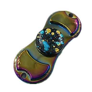 Fidget spinner -stressilelu hand Spinner Lelut kaksi Spinner Metalli Klassinen Pieces Poikien Tyttöjen Lahja