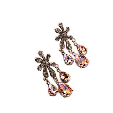Damskie Kolczyki koła Kryształ Modny Osobiste euroamerykańskiej Biżuteria Na Ślub Impreza Urodziny