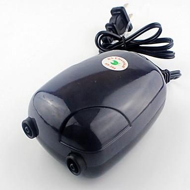 أحواض السمك مضخات الهواء اصطناعي مع قواطع دليل التحكم في درجة الحرارة قابل للتعديل بدون صوت غير سام و بدون طعم بلاستيك