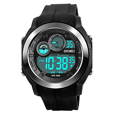 SKMEI Herrn digital Digitaluhr / Armbanduhr / Militäruhr / Sportuhr Japanisch Alarm / Kalender / Chronograph / Wasserdicht / Großes