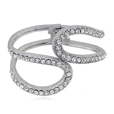 للمرأة أساور موضة سبيكة Round Shape مجوهرات من أجل زفاف حزب هدية