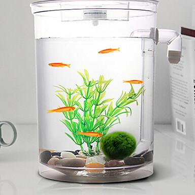 Akvaario Sisustus Mini-akvaariot Koristeet Säädettävä Itsestään valaiseva pimeässä Kytkimillä Keinotekoinen Sterilisoitu Myrkytön ja