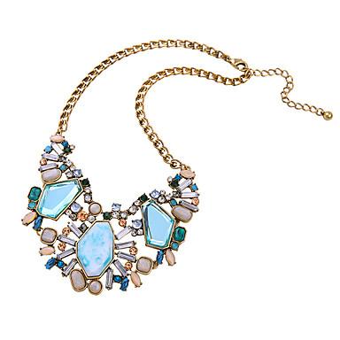 Damskie Oświadczenie Naszyjniki Geometric Shape Przyjaźń Słodkie Style Biżuteria Na 1szt